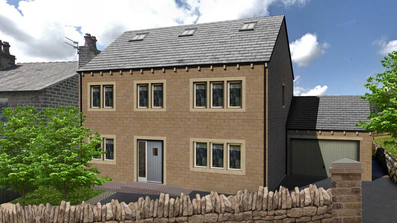 Plot 2, Dodlee Lane, Longwood, Huddersfield HD3 4TZ